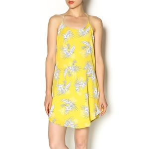 Floral Halter Dress by Honey Punch